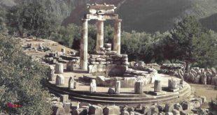 معبد دلفی یونان