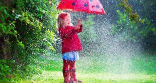 در جشن تولد باران ، همه جا خیس شد