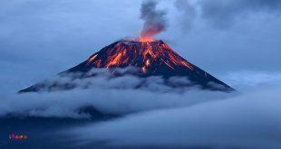 آتشفشان ، عقده های زمین را آشکار می کند