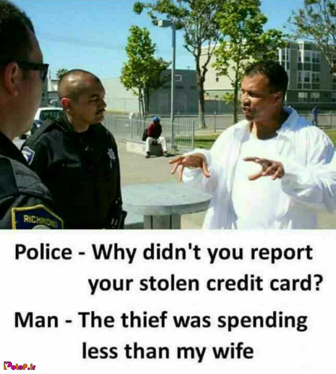 دزدیده شدن کارت اعتباری