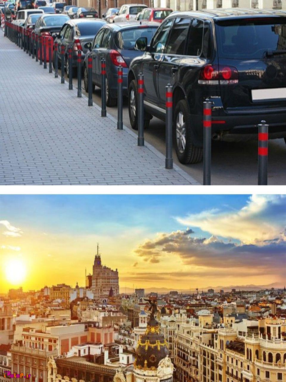در برخی از شهرهای اسپانیا رانندگان