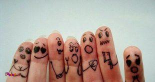 هر یک از انگشتها دست مسئول 1 احساسکه با ماساژش میتونید اون احساس رو کنترل کنید