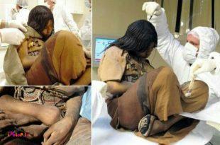 دانشمندان موفق به کشف دختر 14-15 ساله منجمد شده ای شدند