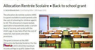 جالبه بدونید در فرانسه تمام بچه ها، فقیر و پولدار هم نداره،
