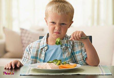 نکاتی برای بدغذایی بچهها