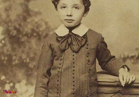 این کوچولو، آلبرت انیشتین فیزیکدان نابغه جهان در سن ۵ سالگی میباشد!