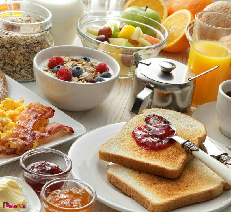 ⚠️اخطار! صبحانه را به یک کیک یا شیرینی محدود نکن