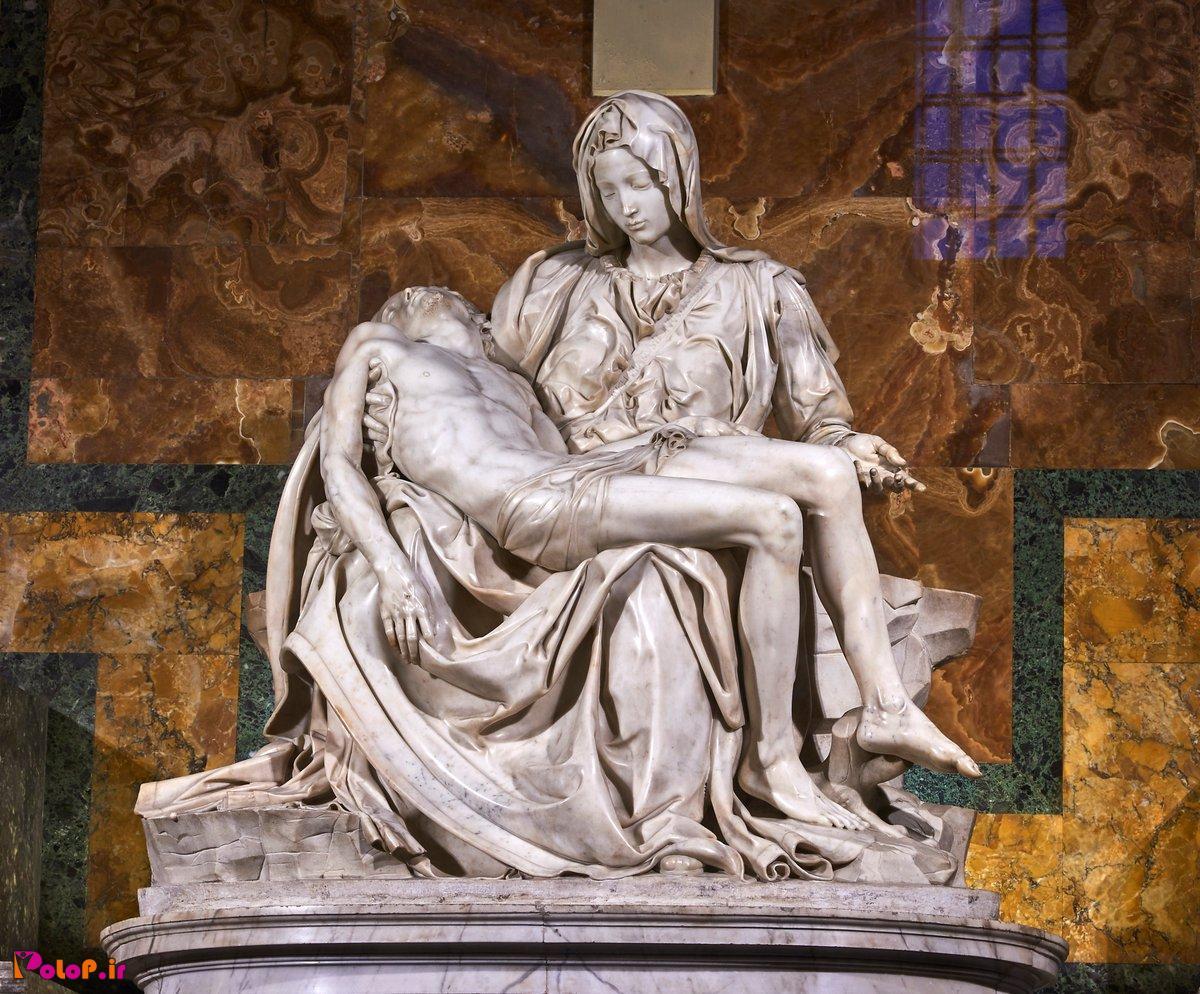 این مجسمهای که میبینید اثر میکل آنژ نگارگر،پیکرتراش،معماروچکامهسرای ایتالیایی در بیش از ۵۰۰ سال پیشهست !☝️