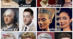 چهرههای تاریخی رو از روی مجسمههاشون به روزرسانی کردند.