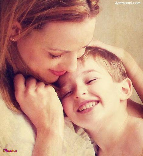 آغوش مادر شفا بخش ترین آغوش دنیاست !