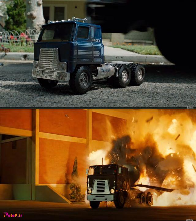 تو فیلم ترمیناتور ۱۹۸۴ صحنههای ترور سارا کانر با بازی قابل تحسین آرنولد، روی این کامیون اسباببازی ضبط شده بود!