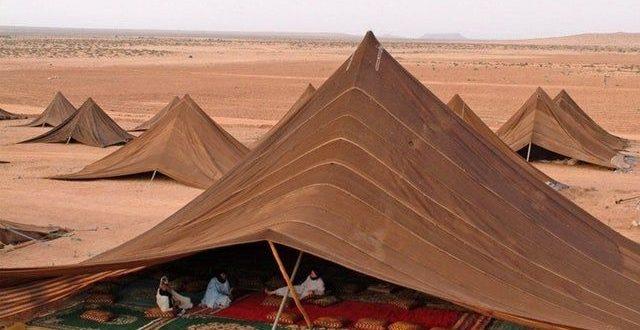 چادرهای بادیهنشینان در صحرای ساهارا رو ببینید و لذت ببرید!