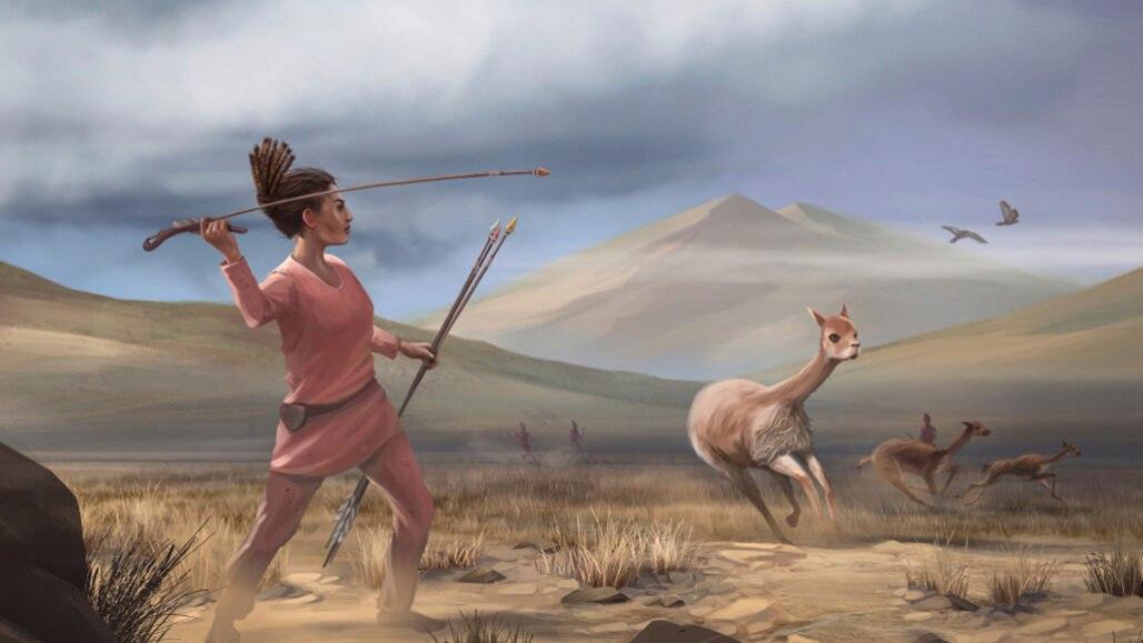 شواهد باستان شناسی نشان میدهد 9000 سال پیش در آمریکا زنان به شکار حیوانات بزرگ میرفتند!