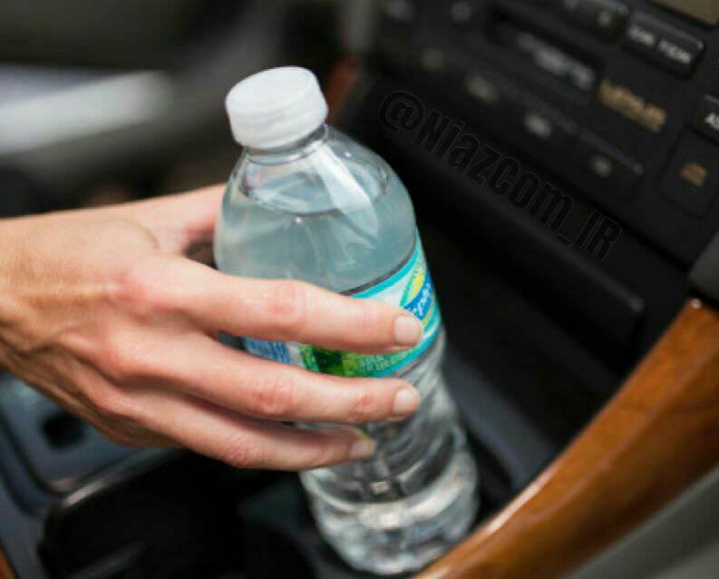 """در مسافرت هرگز آب گرم """"بطری پلاستیکی"""" مانده در ماشین را مصرف نکنید❗️"""