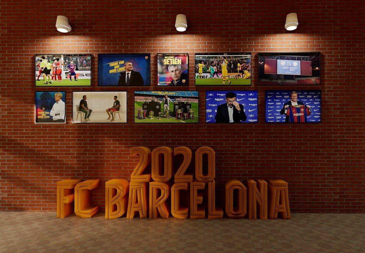 سال 2020 بارسلونا در یک قاب به معنای واقعی کلمه؛ کابوس!