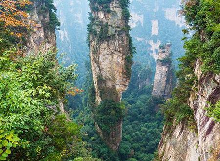 ⛰پارک ملی ژانگ جیاجی ، #چین | Zhangjiajie National Forest Park