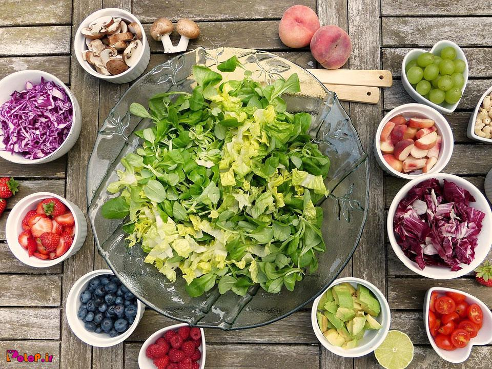 غذاهای کمک کنند به کاهش وزن و چربی سوزی در رژیم های لاغری