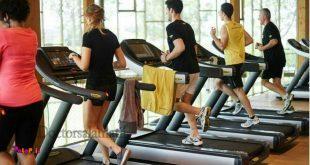 افرادی که ورزش میکنند ،