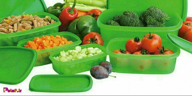 🚫نگهداری غذا به مدت زیاد در ظروف یک بار مصرف پلاستیکی سبب اختلال در: