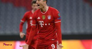 ۷۳ گل در ۹۶ بازی اروپایی