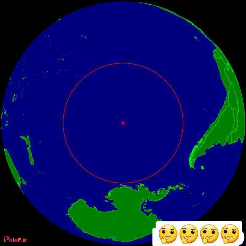 همیشه برام سوال بود دورترین نقطهی دریا به خشکی کجاست؟!