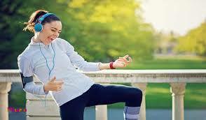 آهنگ گوش بدید و ورزش کنید