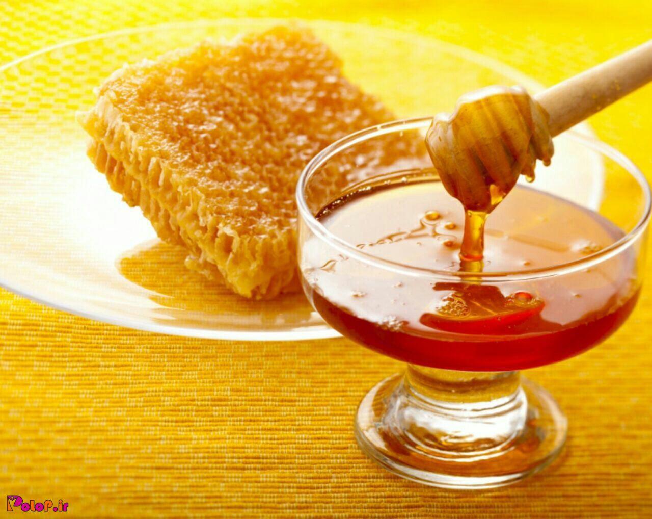 فواید عسل قبل از خواب🤔
