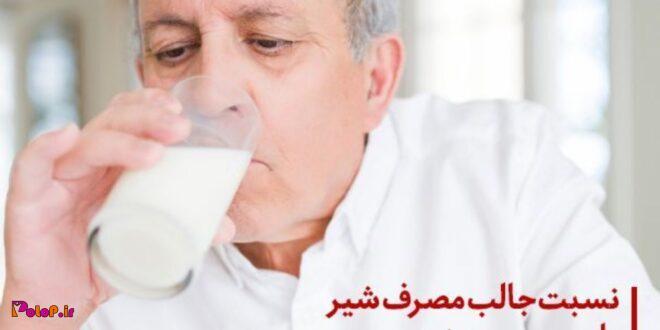 نسبت جالب مصرف شیر با پیری زودرس!