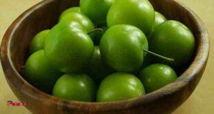 با گوجه سبز آب بخورید !