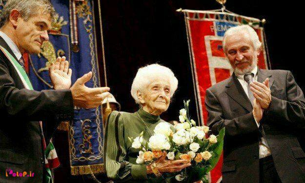 ایشون خانمریتا لوی مونتالچینی، عصبشناس معروف ایتالیایی هستند.