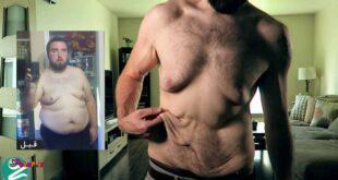 اگر میخواهید پوستتان شل نشود عضله بسازید