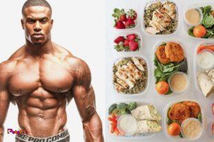 مشخصات برنامه غذایی یک بدنساز