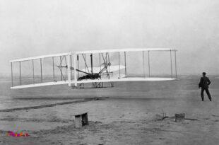 117 سال پیش در همین تاریخ برادران رایت برای اولین بار تونستند با وسیله پرندهی خودشون در ارتفاع 4 متری به مدت 12 ثانیه پرواز کنند و پرواز انسان از اینجا شروع شد...