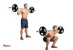 اسکوات یکی از بهترین حرکات تقویت عضلات چهار سر ران است.