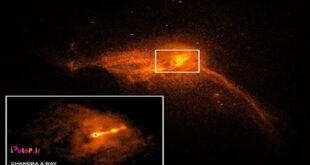 ناسا اخیراً تصا,یری از سیاهچالههای بزرگ را به اشتراک گذاشته؛