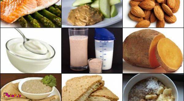 غذاهایی که بعد از ورزش مفید هستند: