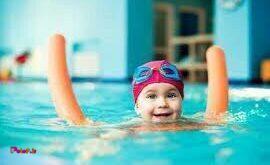 با ضد آفتاب شنا نکنید: