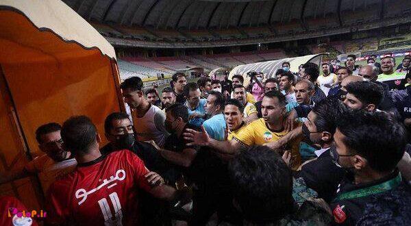 باشگاه پرسپولیس بابت درگیریهای بازی سپاهان از چند بازیکن و مسئولین این تیم شکایت کرد.