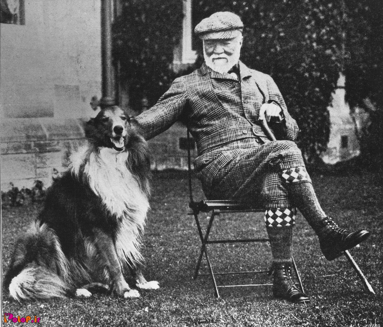 این بزرگوار آقای اندرو کارنگی هستند (۱۸۳۵ تا ۱۹۱۹)، خب ایشون کیه؟