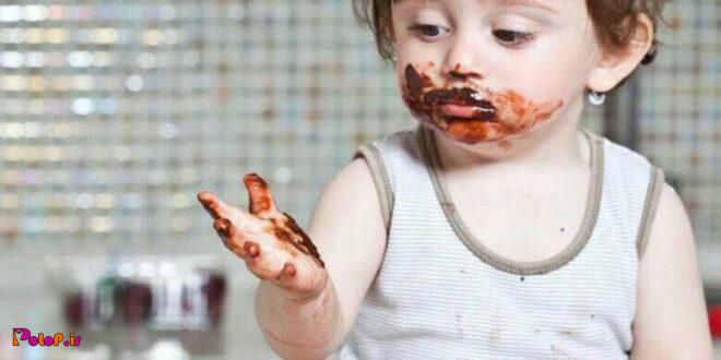 اگر کودک شما بیش از حد شکلات مصرف میکند