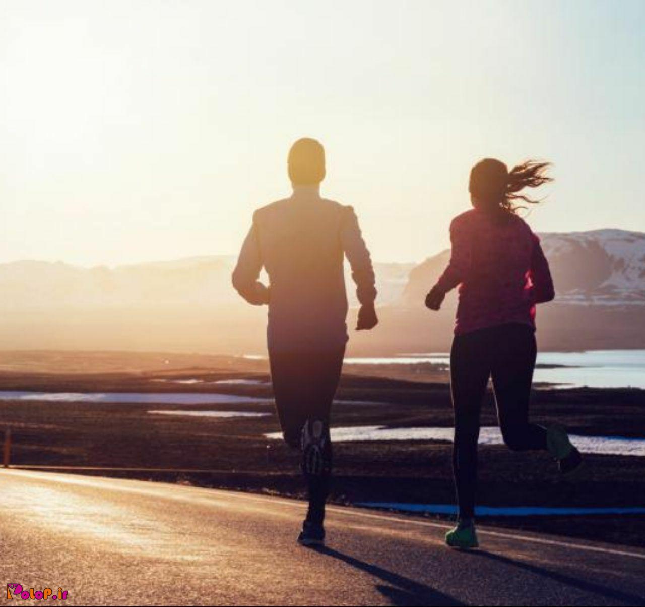 دویدن 🏃♂🏃♀ بیشتر از پیاده روی 🚶♂🚶♀ به کاهش وزن کمک می کند