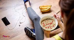 عوارض گرسنگی بعد تمرین