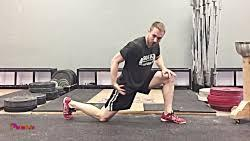 قبل از شروع به تمرین خوب گرم کنید افرادی که قبل از تمرین با وزنه گرم نمی کنند درصد آسیب دیدگی در این افراد بالاست