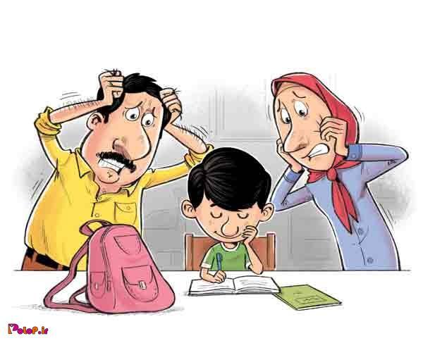 علل اصلي درشت نويسي دانش آموزان