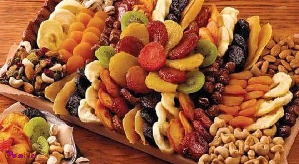 خوراکیهای خشک شده برای بدن مفید هستند