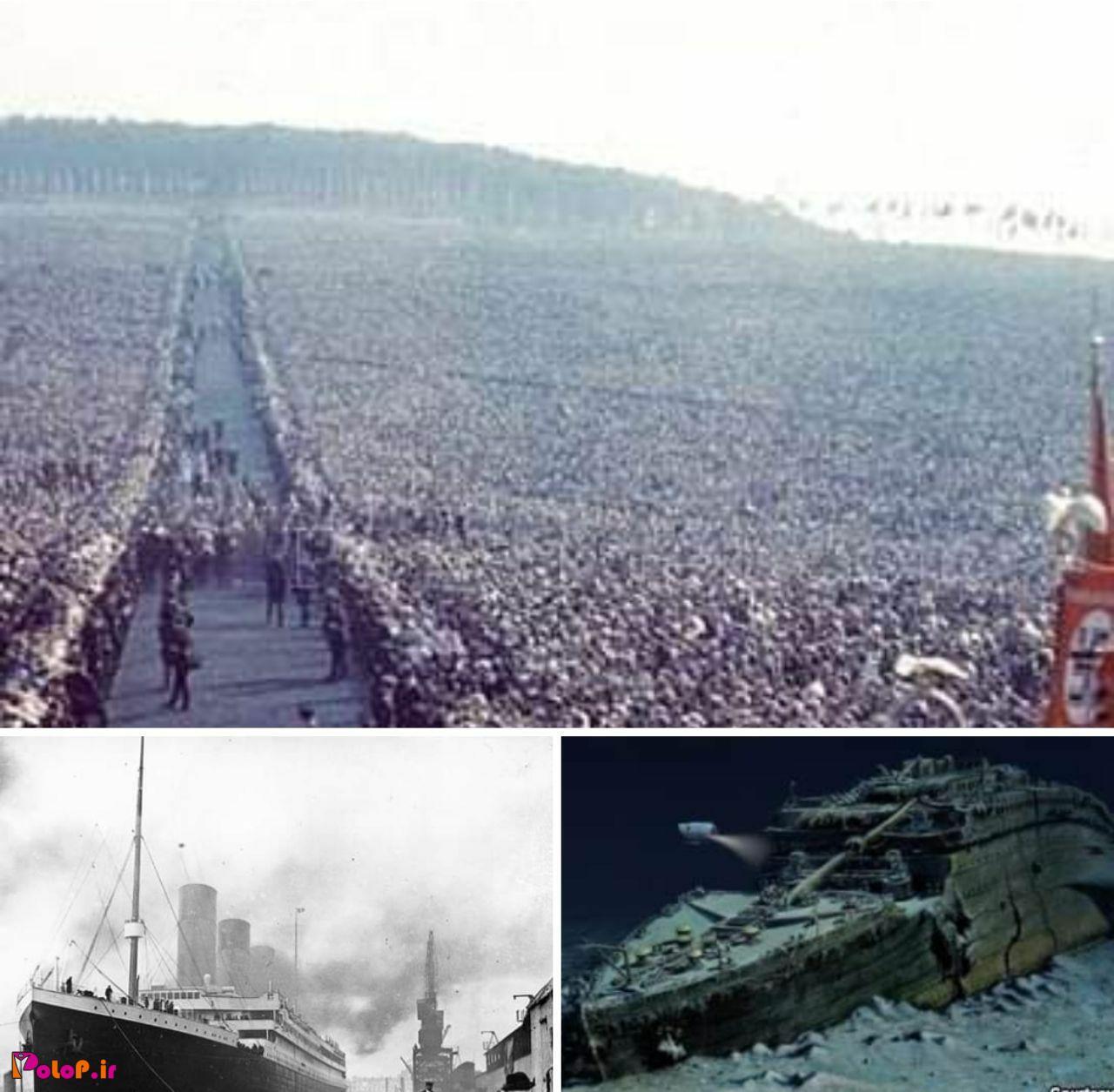 سازندگان کشتی تایتانیک بر این باور بودند که حتی خدا هم قادر به غرق کردن ان نخواهد بود