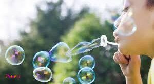 تاثیر حباب بازی در رشد کودکان