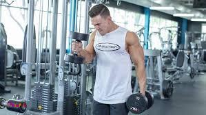 انفجار عضلات بازو با دمبل❕