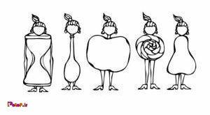 شکل بدن خود را اینگونه بشناسیم