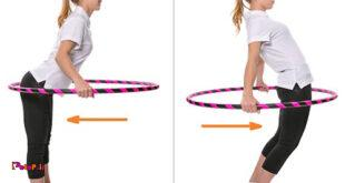 حلقه زدن پایه ای ( برای عضلات شکم )